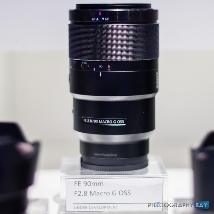 Sony FE Lenses CES 2015-3