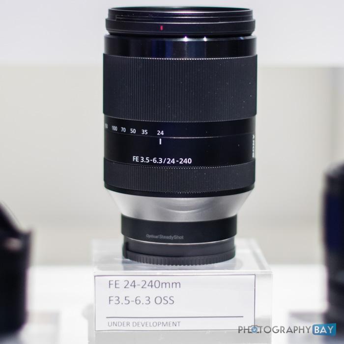 Sony FE Lenses CES 2015-5