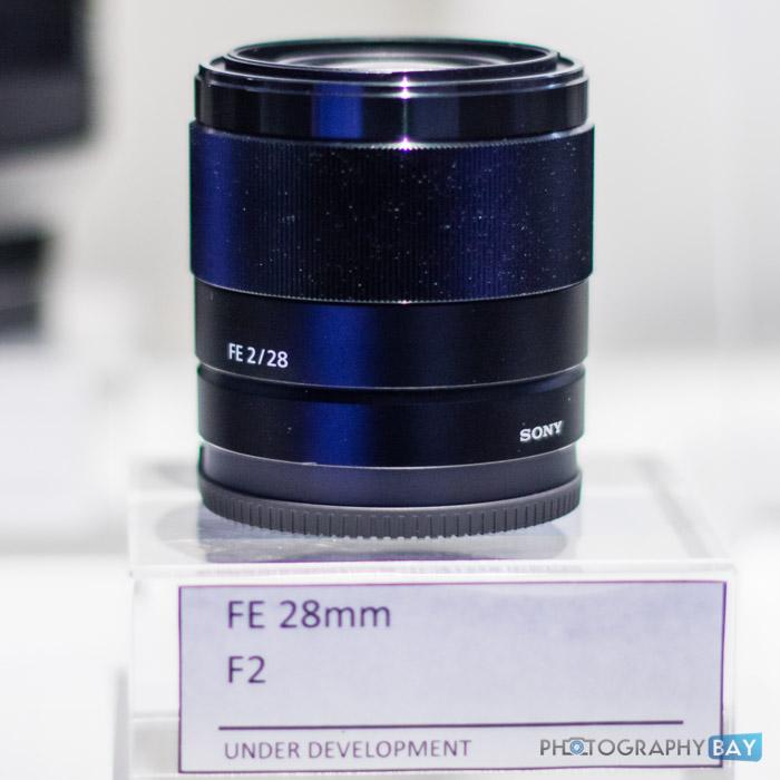 Sony FE Lenses CES 2015-6