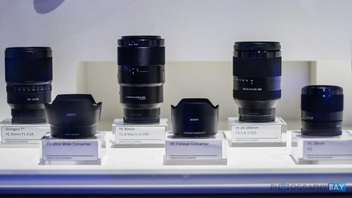 Sony FE Lenses CES 2015-7