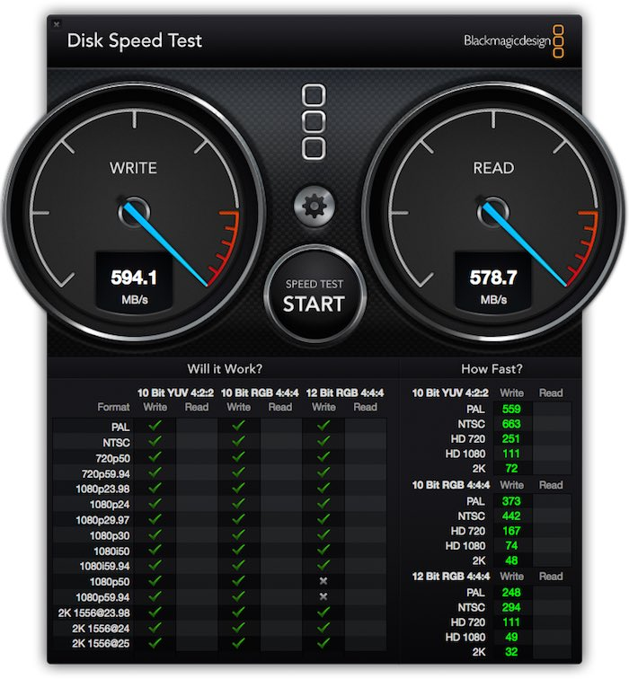 Thunderbay IV Speed Test
