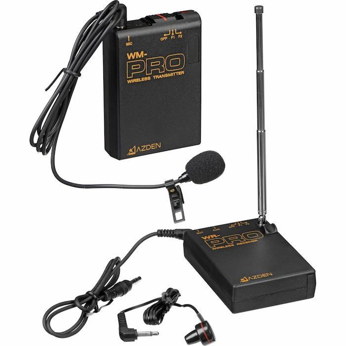 Azden WLX-PRO Wireless Lav Mic Kit
