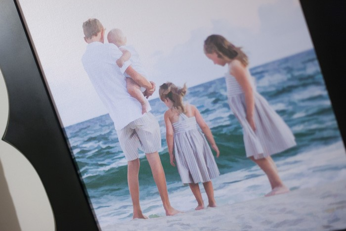 Beach Pic Canvas