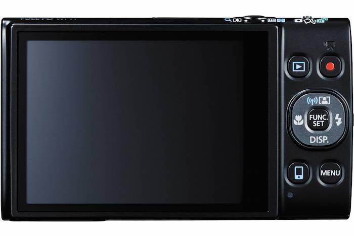 Canon PowerShot ELPH 350 HS back