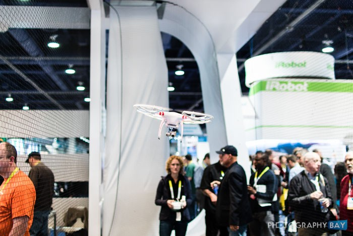 DJI Booth at CES 2015