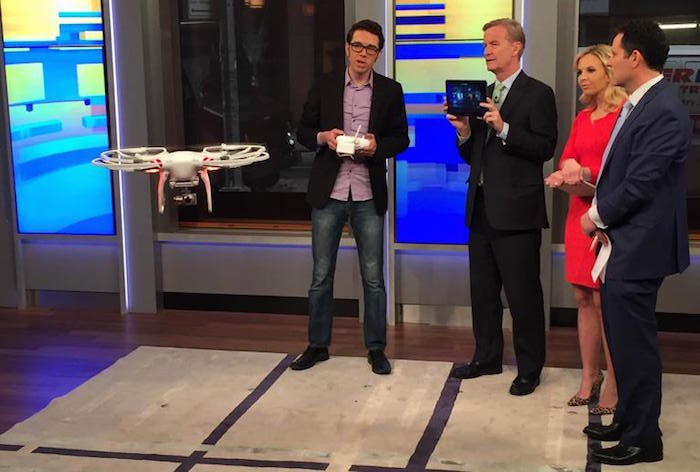 Dave Mosher on FOX Friends Crashes Drone