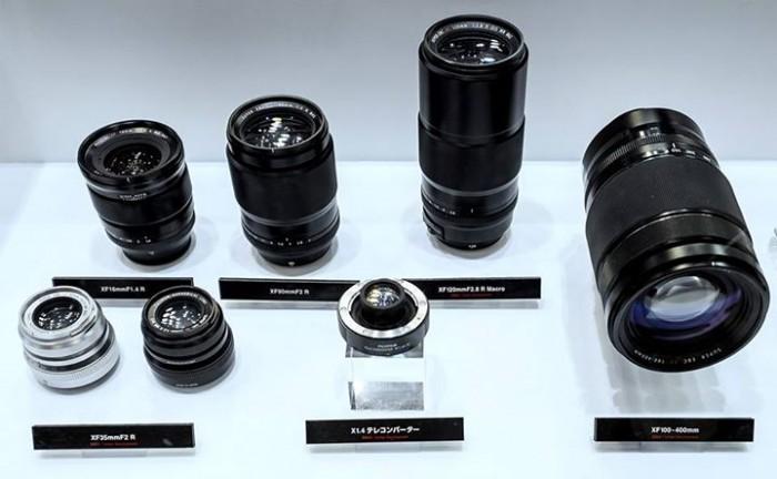 Fuji XF Lenses 2015-2016