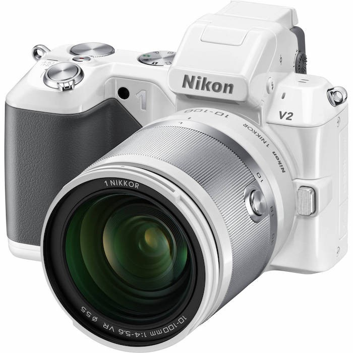 Nikon 1 V2 with 10-100mm Lens