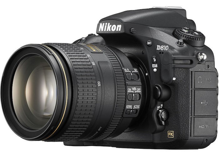 Nikon D810 with 24-120mm