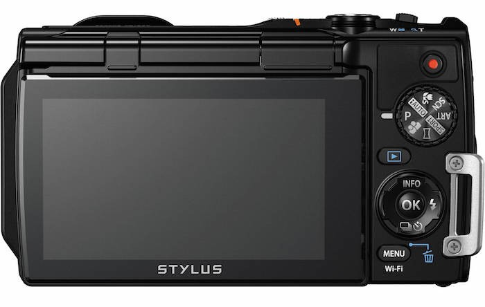 Olympus Stylus Tough TG-860 back