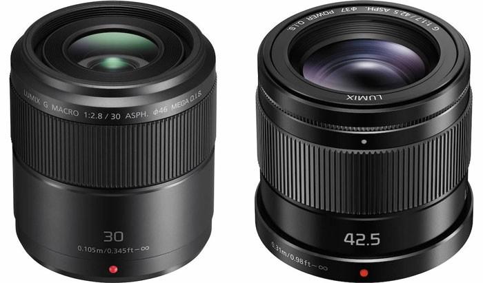 Panasonic-30mm-Macro-and-42.5mm-Lenses