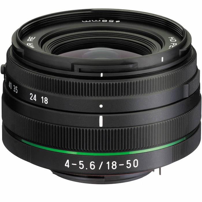 Pentax HD DA 18-50mm f4-5.6 Lens