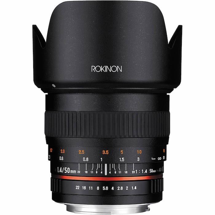 Rokinon 50mm 1.4 Lens
