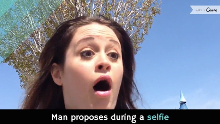 Selfie Proposal