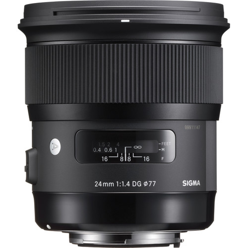 Sigma 24mm f1.4 DG HSM Lens-2