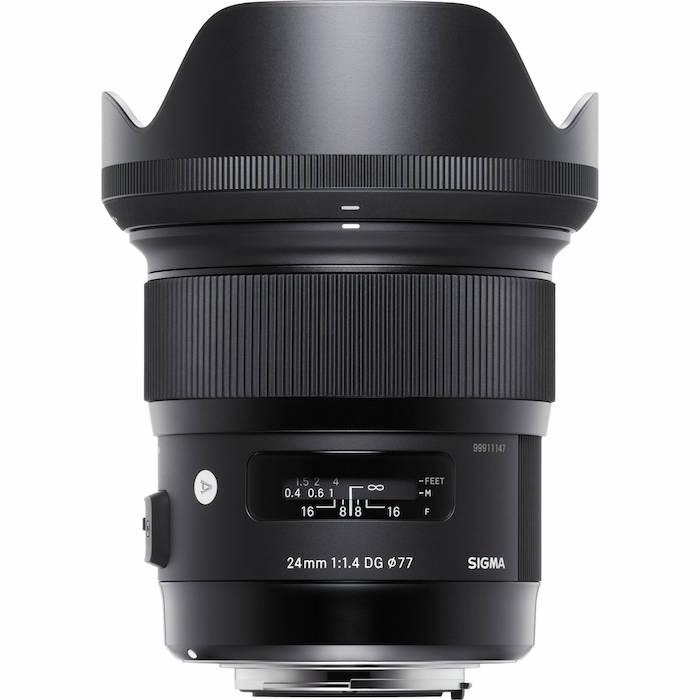 Sigma 24mm f1.4 DG HSM Lens