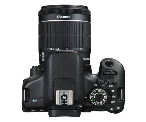 Canon 750D Top