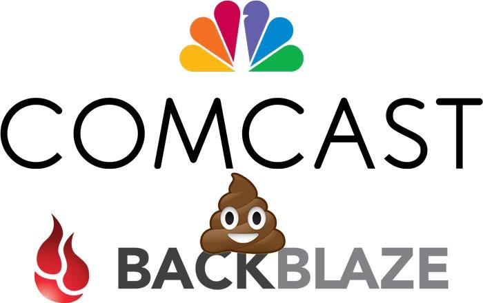 Comcast-Poops-on-Backblaze