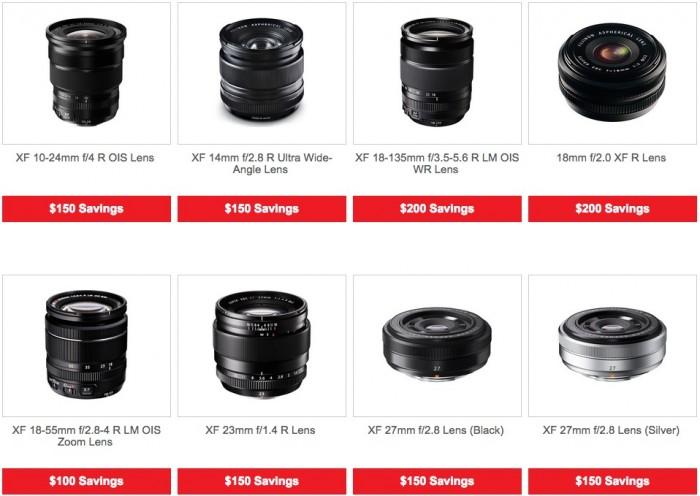 Fuji Lens Deals March 2015