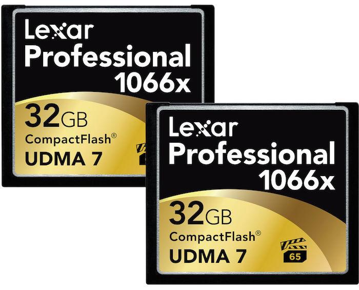 Lexar 32GB CF Cards