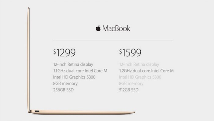 MacBook 2015 price