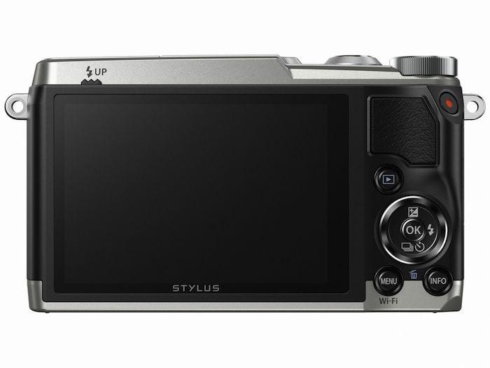 Olympus Stylus SH-2 back