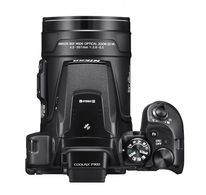 the new nikon coolpix p900 features 24 2000mm optical zoom lens. Black Bedroom Furniture Sets. Home Design Ideas