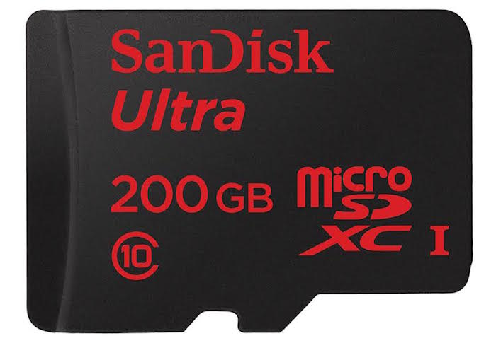 SanDisk 200GB microSDXC Card