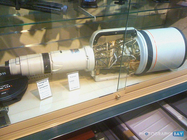 Canon 1200mm Lens at BH Photo