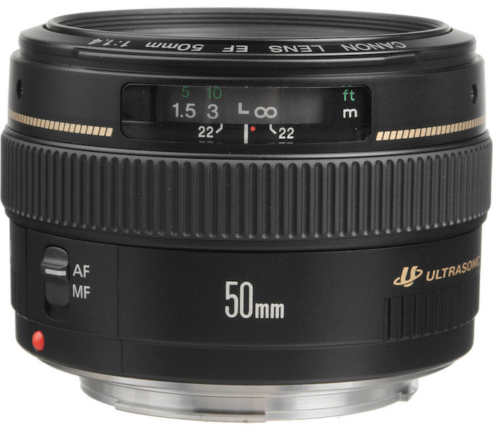 Current Canon 50mm f1.4 USM Lens