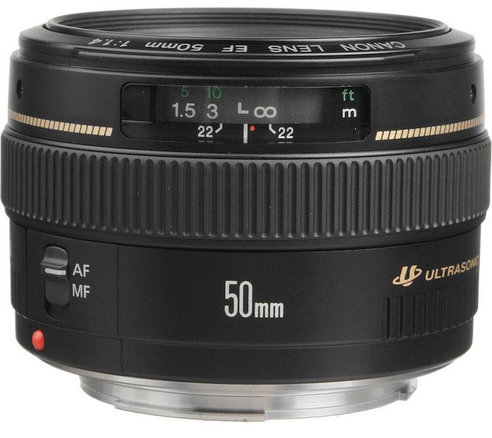 Current Canon 50mm f1.4 USM Lens