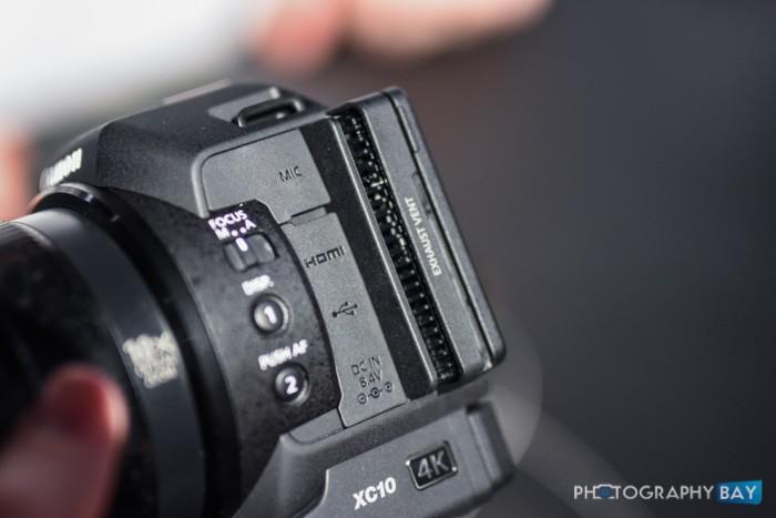 Canon XC10-8