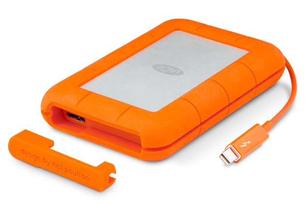 LaCie Rugged SSD Drive