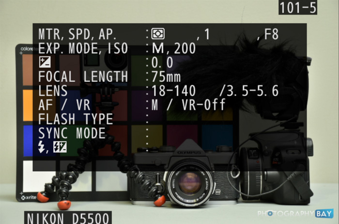 Nikon D5500 Menu -_-12