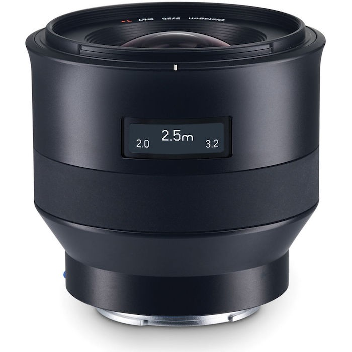 Zeiss Batis Focus and DOF Scale