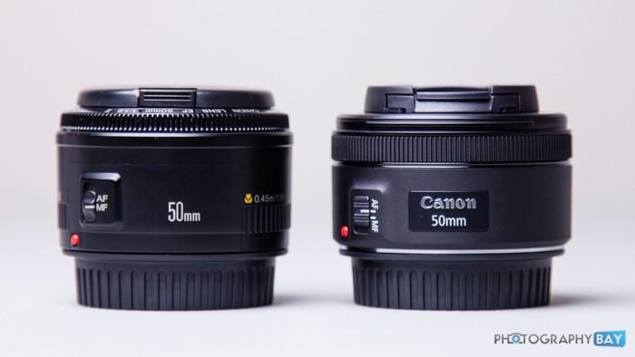Canon EF 50mm f1.8 STM-3