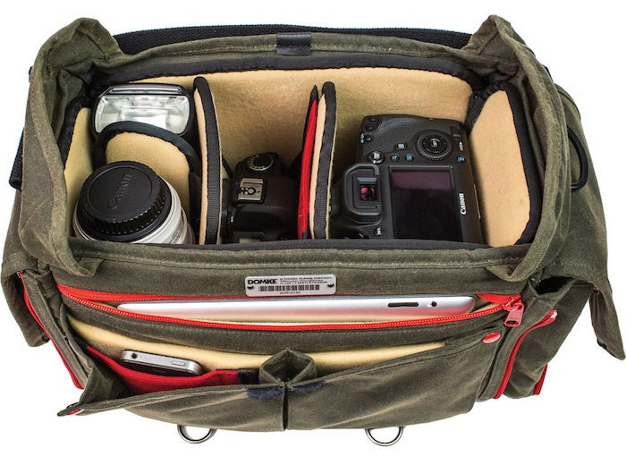 Domke Chronicle Camera Bag open