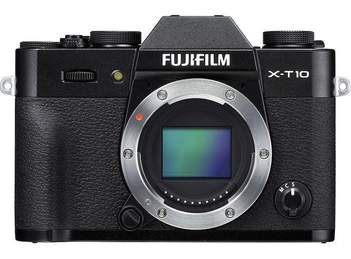 Fuji X-T10 black