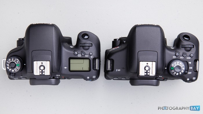 Canon Rebel T6s (left) & Canon Rebel T6i (right)