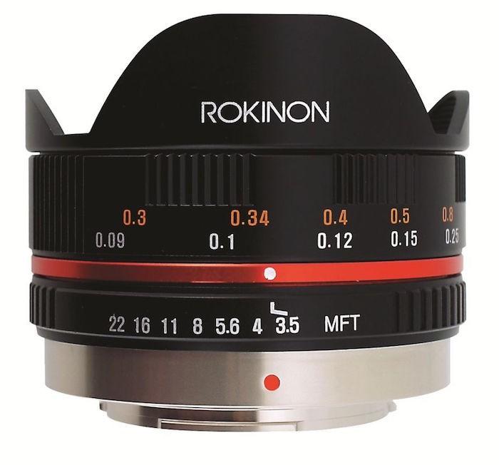 Rokinon 7.5mm Lens
