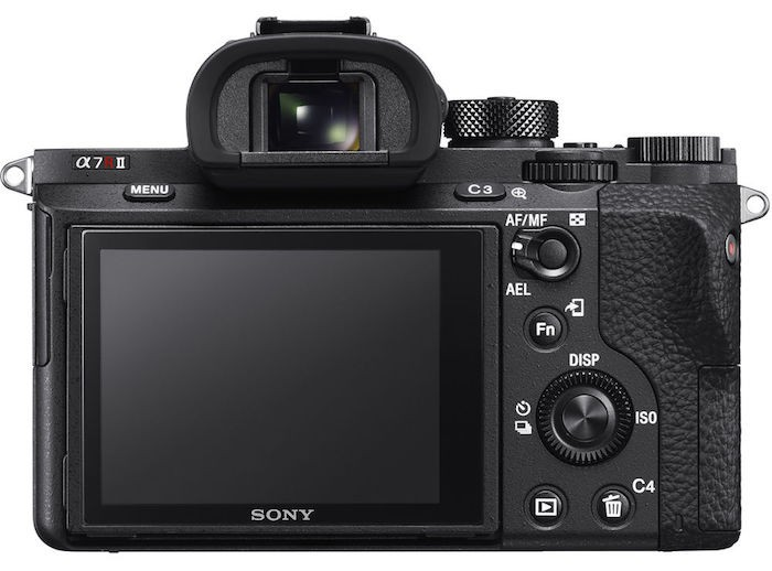 Sony A7R II back