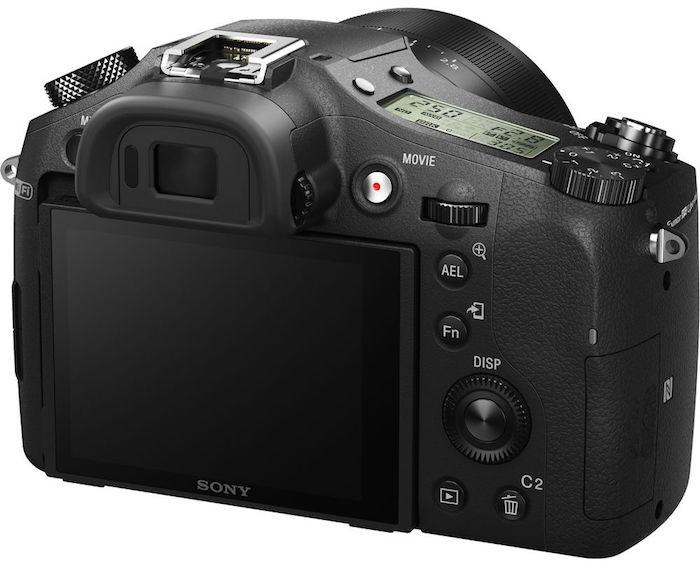 Sony RX10 II back