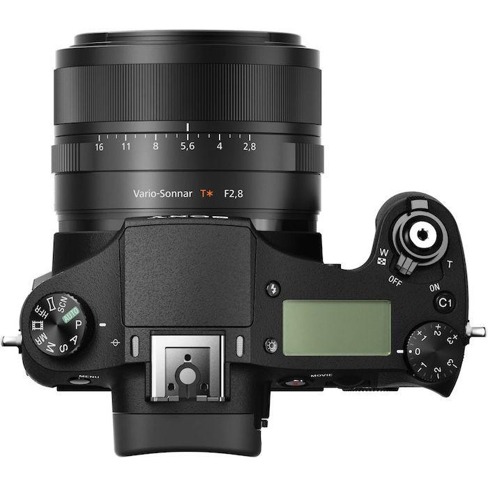 Sony RX10 II top