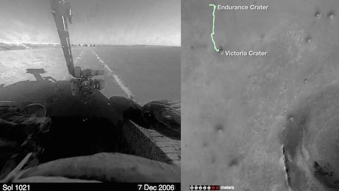 NASA Mars Rover Marathon