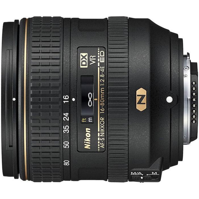 Nikon 16-80mm f2.8-4 Lens