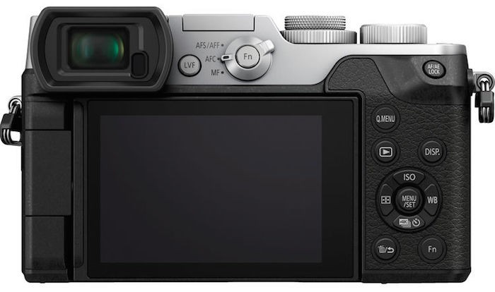 Panasonic Lumix GX8 back