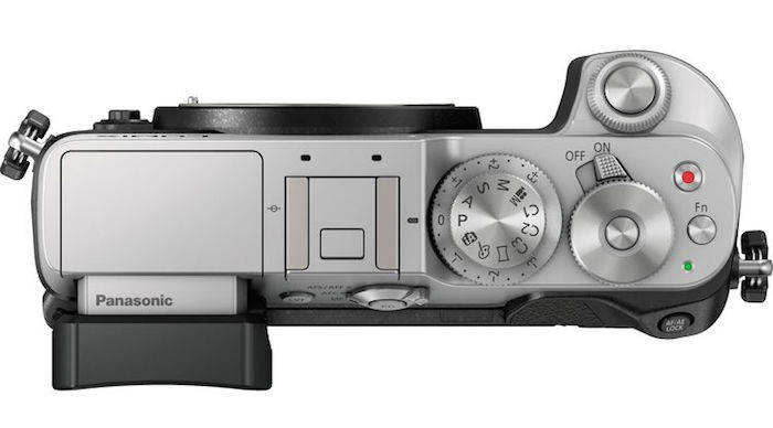 Panasonic Lumix GX8 top