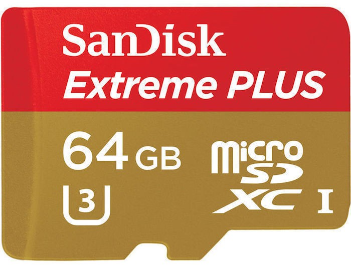 SanDisk Extreme Plus microSDHC Memory Card