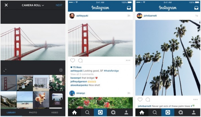 Instagram Landscape and Portrait Crops