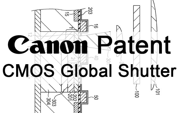 Canon Global Shutter Patent Application